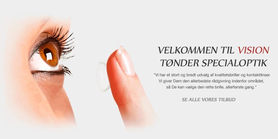 6f52f663f Tønder Specialoptik - Briller - Kontaktlinser - Synsprøver
